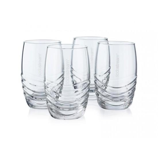 SodaStream Sada 4 designových pohárov
