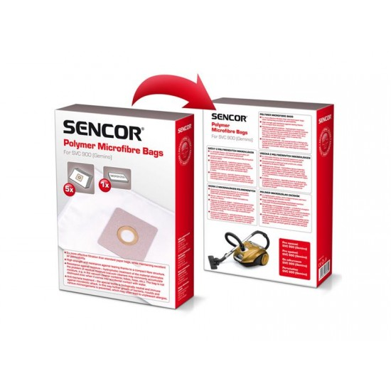 Sáčky do vysávača SENCOR SVC 900 Micro 5ks