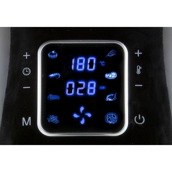 Fritéza teplovzdušná 5,5L digitálna DOMO DO513FR