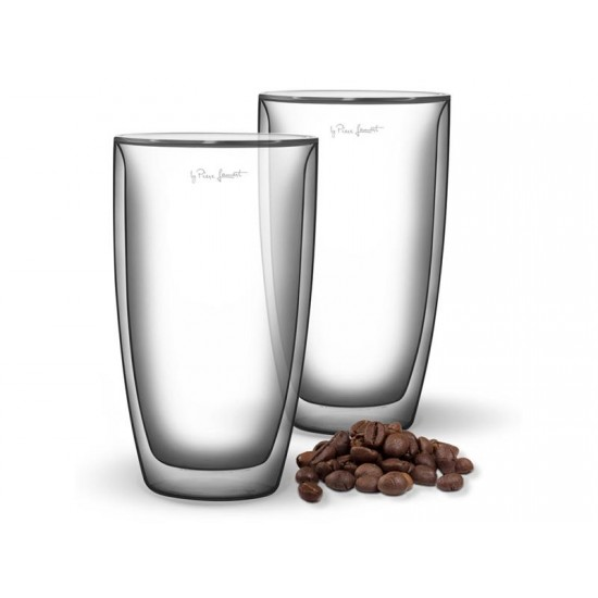 Pohár COFFEE 230ml VASO LAMART LT9010 SET 2ks