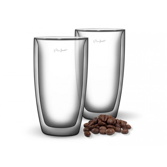 Pohár CAFE LATTE 380ml VASO LAMART LT9011 SET 2ks