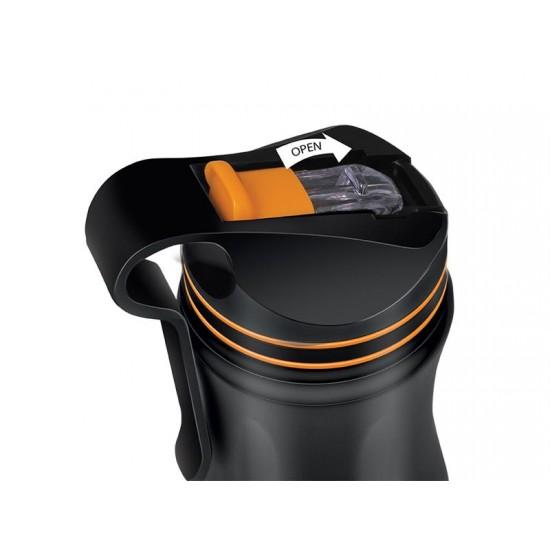 Termoska 550ml HANG LAMART LT4048 čierna/oranžová