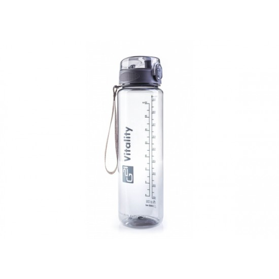 Fľaša G21 1000ml sivá