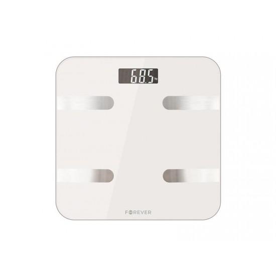 Váha osobná FOREVER AS-100 WHITE BLUETOOTH