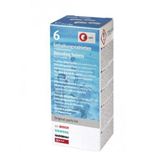 Odvápňovacie tablety do kávovaru BOSCH / SIEMENS TCZ6002 6ks