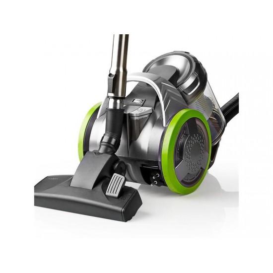 Vysávač podlahový NEDIS VCBS500GN GREEN