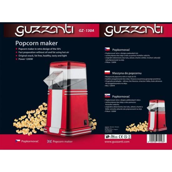 Výrobník popcornu GUZZANTI GZ 130A retro