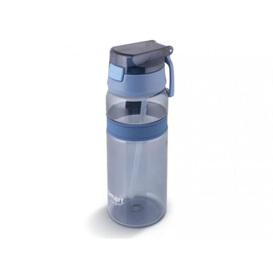 Fľaša na vodu LAMART LT4058 modrá straw.
