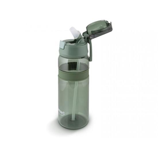 Fľaša na vodu LAMART LT4059 zelená straw.