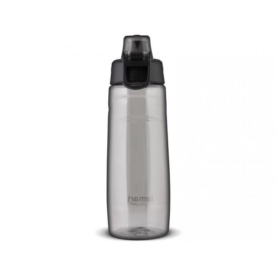Fľaša na vodu LAMART LT4062 LOCK čierna