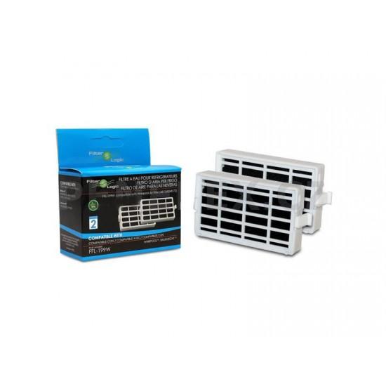 Filter do chladničky FILTER LOGIC FFL-199W kompatibilný MICROBAN HYG001 / ANT001 2ks