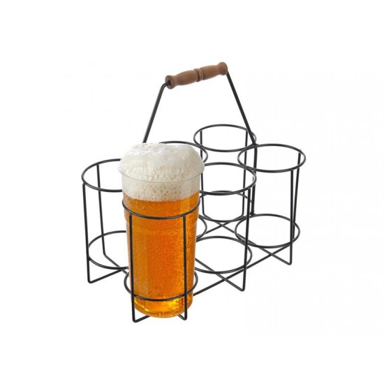 Nosič na pivové fľaše ORION 6 pozícií
