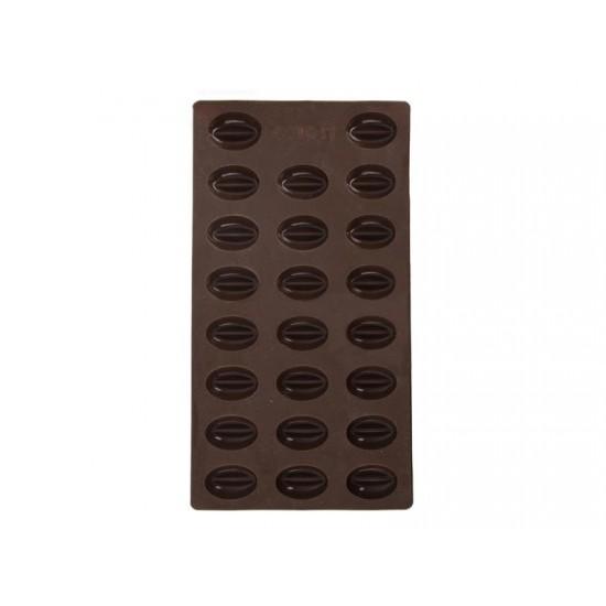 Forma ORION Kávové zrná silikón hnedá