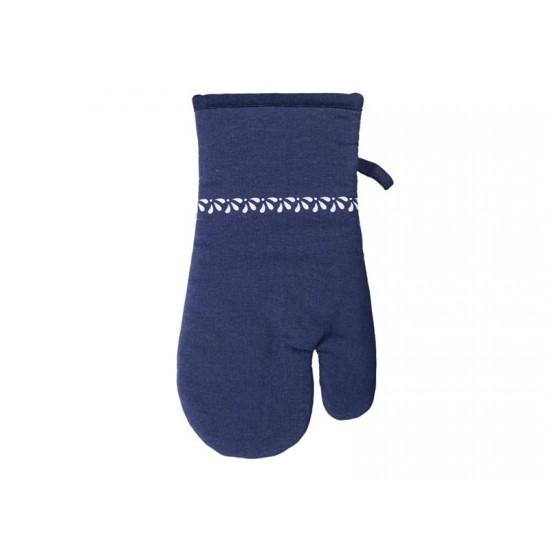 Chňapka ORION modrotlač bavlna