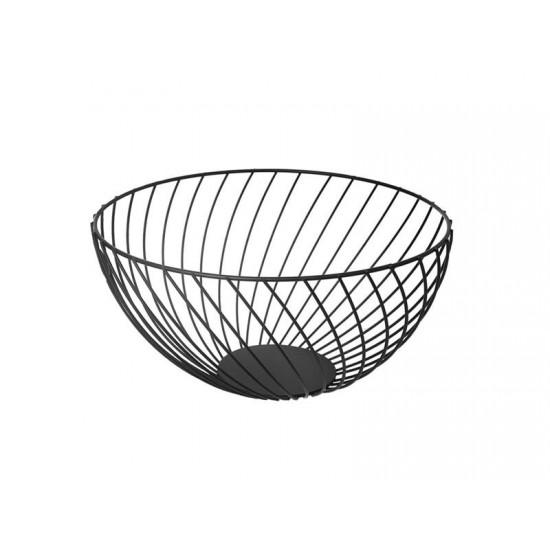 Košík na ovocie ORION čierny 25cm