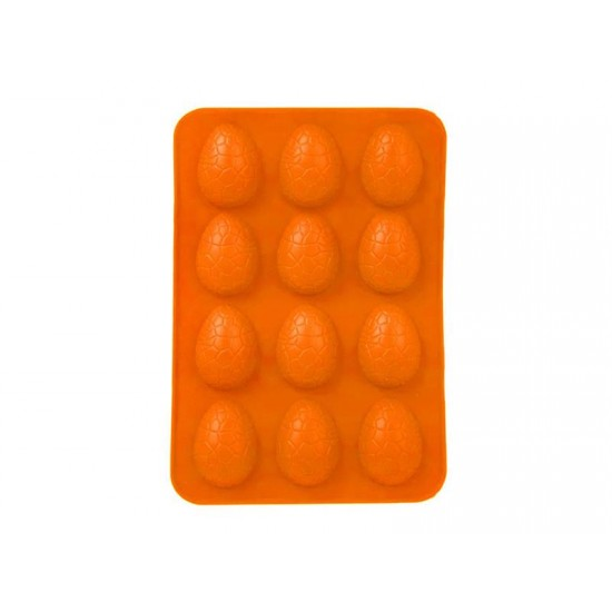 Forma na pečenie ORION Vajíčka silikón oranžová