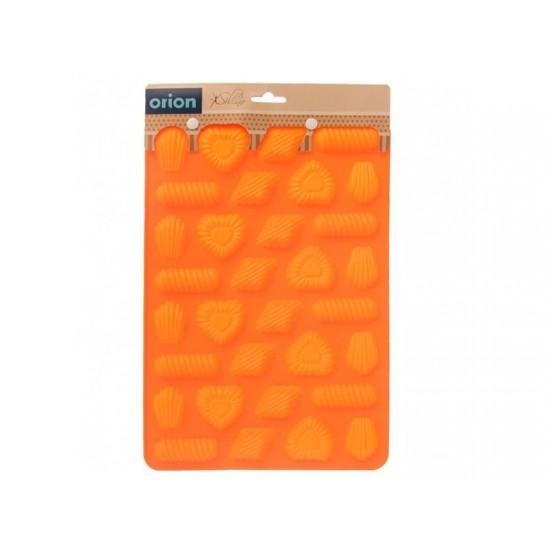 Forma na pečenie ORION Pralinky mix silikón oranžová