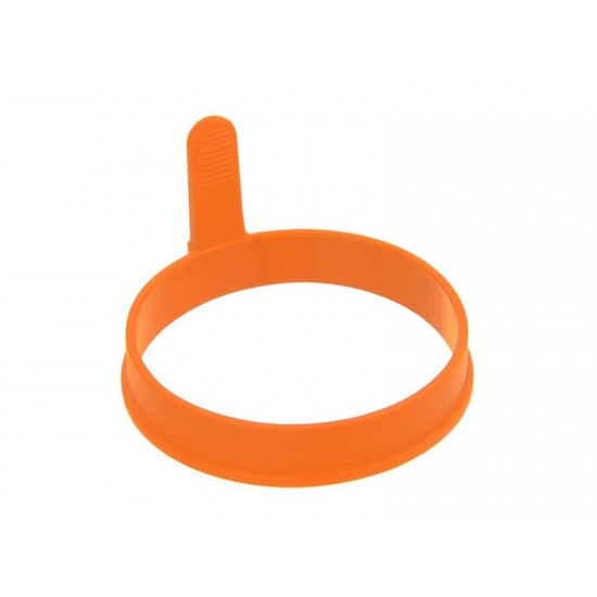 Forma na lievance/volské oká ORION Kruh silikón oranžová