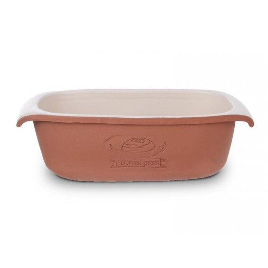 Forma na pečenie chleba ORION 33x16 cm keramika hnedá