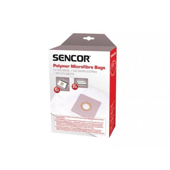 Vrecko do vysávača SENCOR SVC 660 670 Micro 5ks