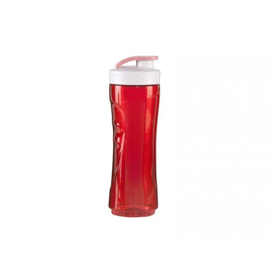 Veľká fľaša k smoothie mixéru DOMO červená
