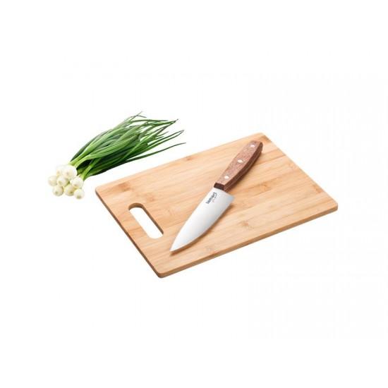 Lopárik a nôž kuchynský Bamboo LAMART LT2059