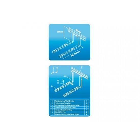 Držiak pre mikrovlnnú rúru XAVAX biely