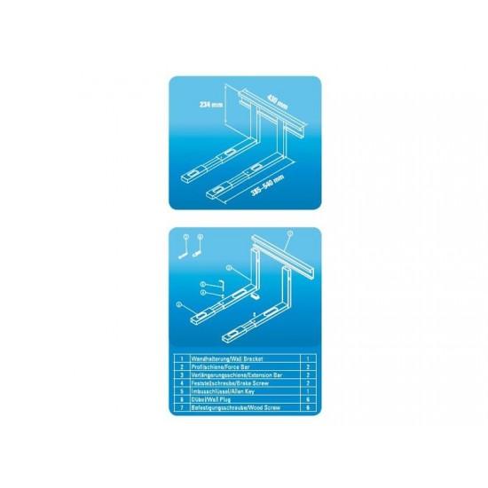 Držiak pre mikrovlnnú rúru XAVAX strieborný