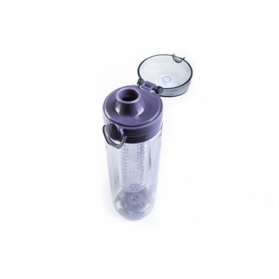 Fľaša G21 SMOOTHIE 650ml šedá