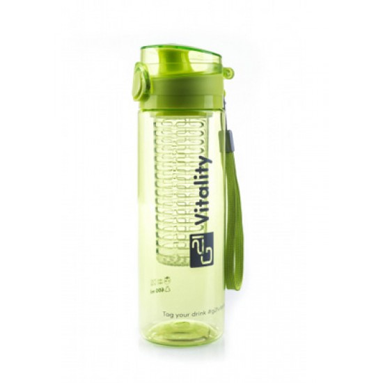 Fľaša G21 SMOOTHIE 650ml zelená