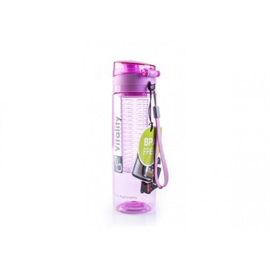 Fľaša G21 SMOOTHIE 650ml fialová