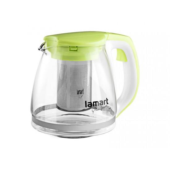 Kanvica LAMART VERRE LT7026 1,1L zelená