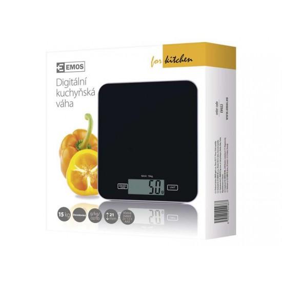 Digitálny kuchynská váha EV022 čierna